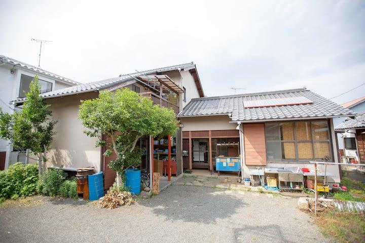 農体験の宿 廻廻-kaie- 一軒家シェアハウス 子連れ歓迎 仲良し家族同士 合宿など
