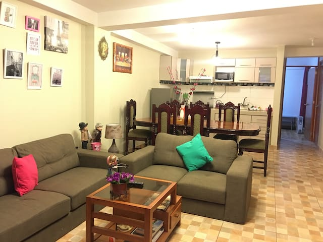 new, great location, fully furnished - Cusco - Appartement