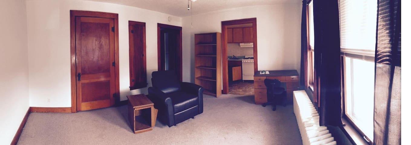 Studio apartment in Downtown Macomb - Macomb - Appartement