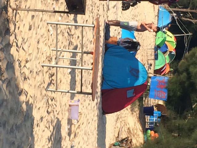 坛南湾海滨浴场沙滩帐篷双人 - 福州