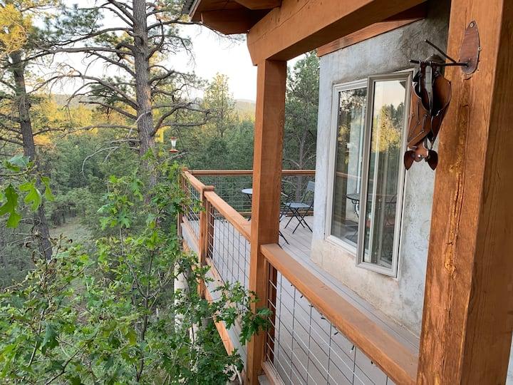 """Clothing Optional - """"Tree House Cottage"""""""