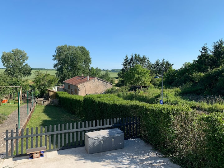Maison lorraine avec grand jardin