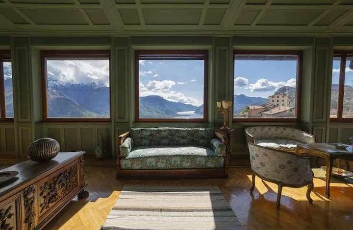 Villa  Montanina  Bellagio♦ private garden & view