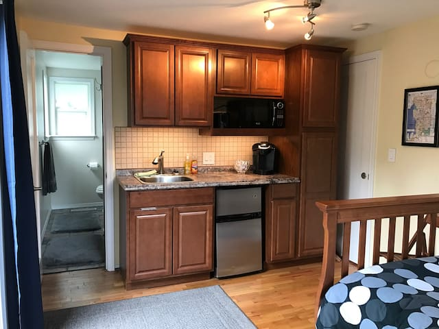 Mini studio with kitchenette in Kirkland - Kirkland - Misafir suiti