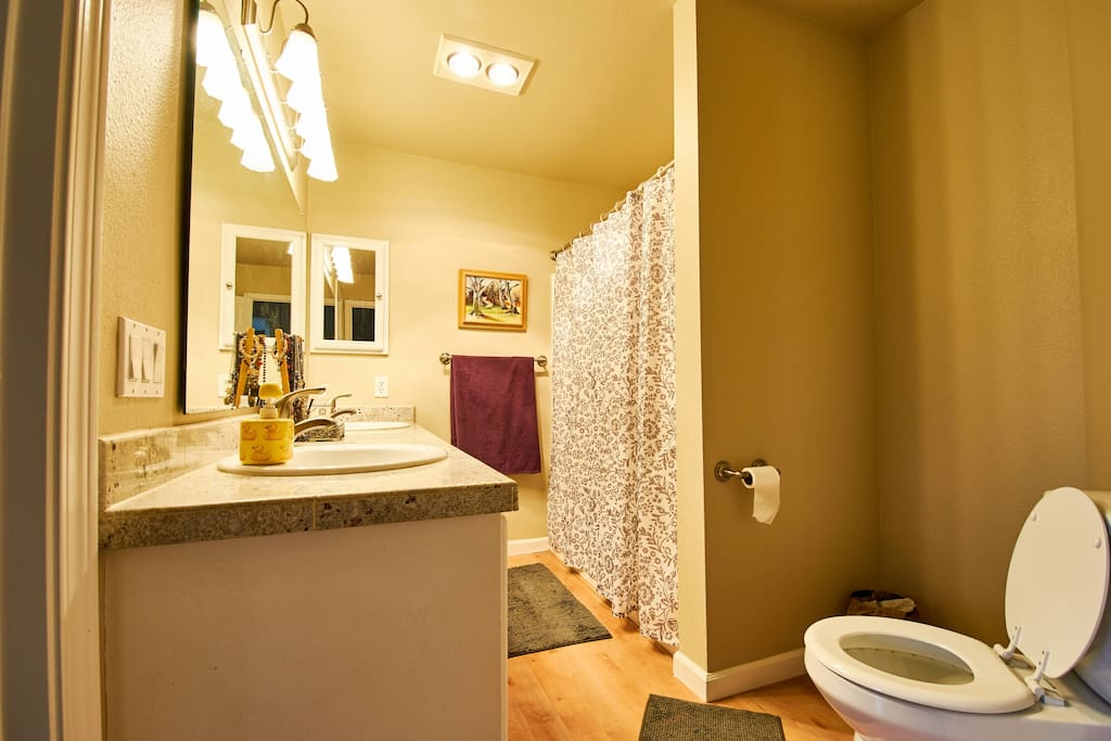 Bathroom shared with host