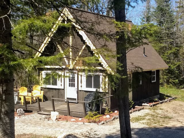 Nunda Cabin - A REAL up-north feel, with comfort