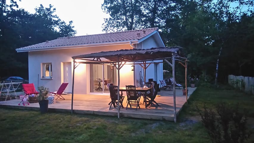 Maison Zo&Li - Proche océan et Forêt - Tranquilité - Grayan-et-l'Hôpital - Rumah