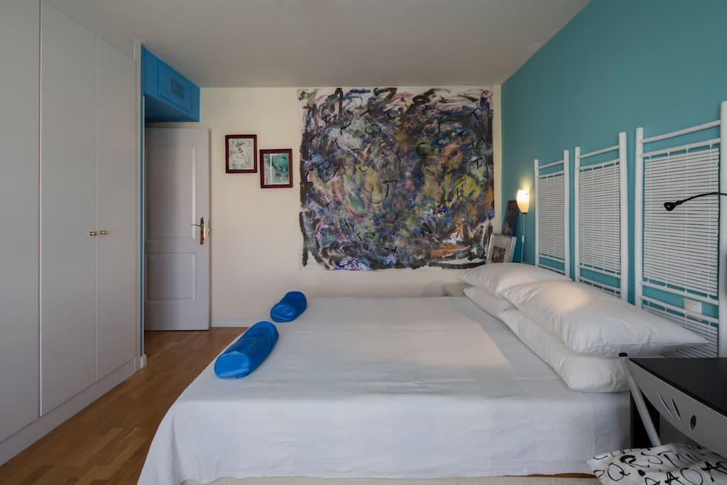 Habitación doble con cama de 160 x 200 m
