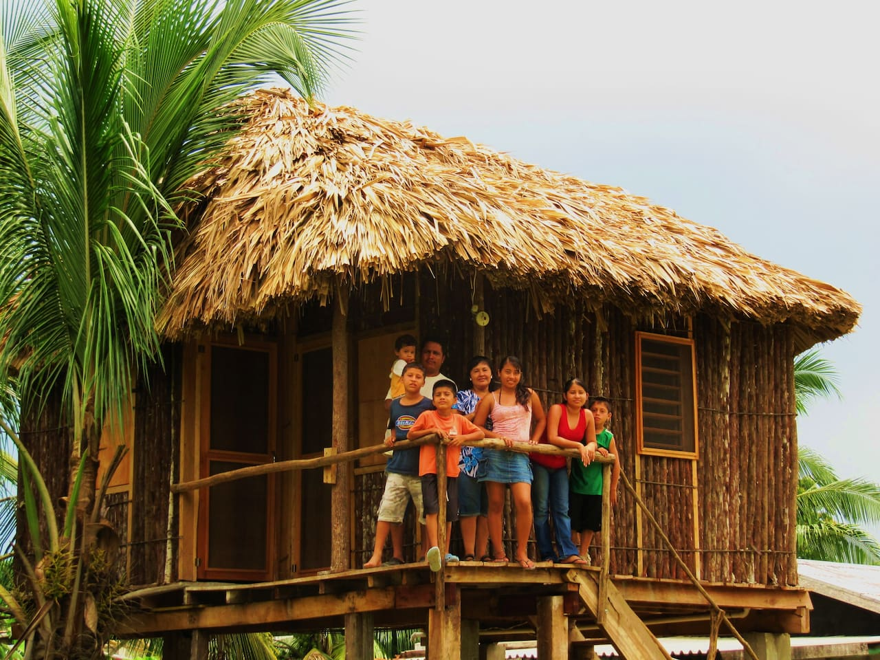 Cabana for rent with host family