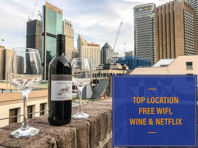 3bd Historic Rocks★Free Wifi ★Opera House★OPT ★CBD