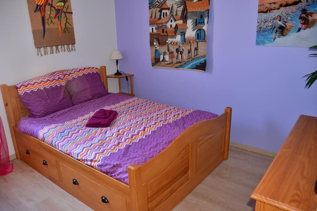 Votre chambre (your room).