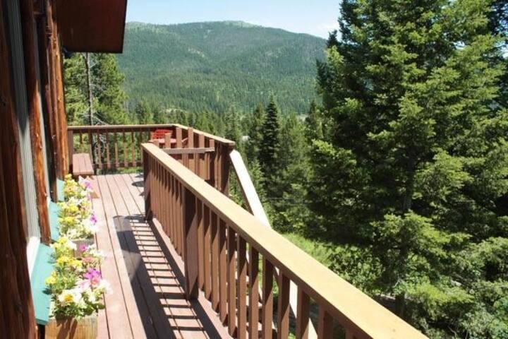 Bridger Mountain Cabin