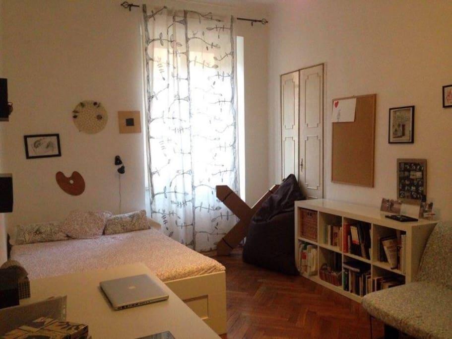 Camera privata centro Torino, vicinissima stazione Porta Susa e via Garibaldi