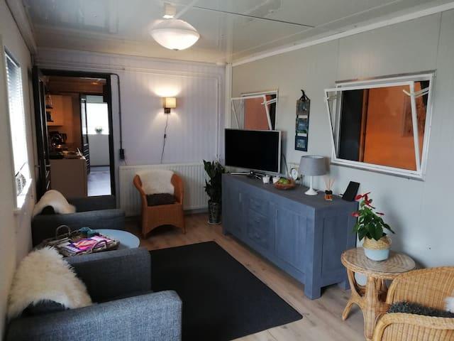 Uniek rustig gelegen boerderij appartement