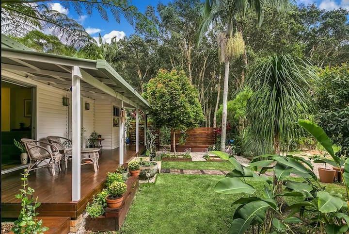 Secluded Garden Beach House