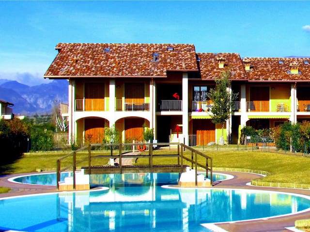 Lake Garda, Raffa-comfortable, quie - Puegnago sul Garda - Appartement
