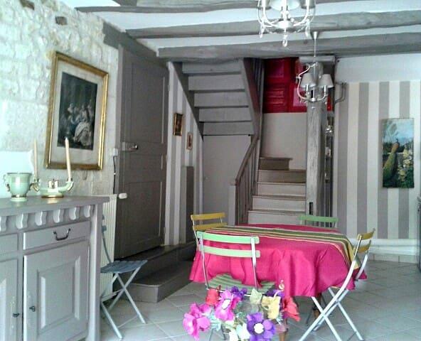 Clos de Kaline*** Poitou 3/4pers - La Roche Posay, Lésigny - Huis