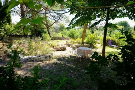 Gîte en Provence - Velleron - บ้าน