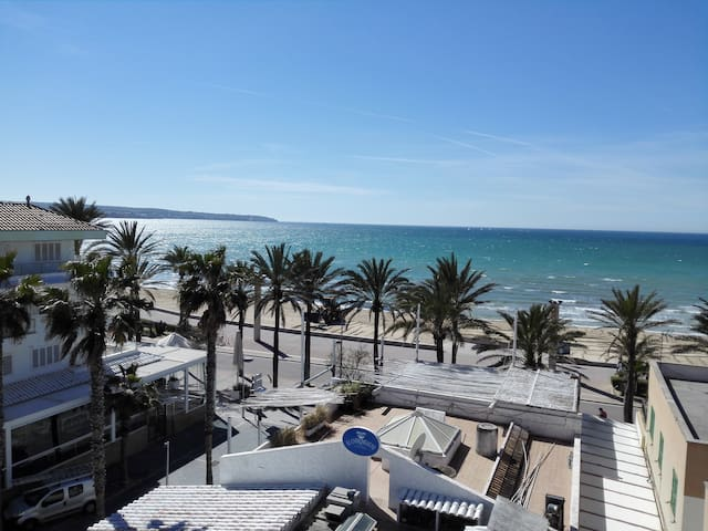 Beautiful apartment on the beach Ballerman 7 - Palma - Appartement