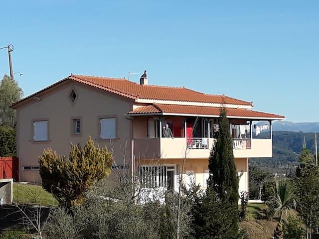 Takis home near ancient olympia