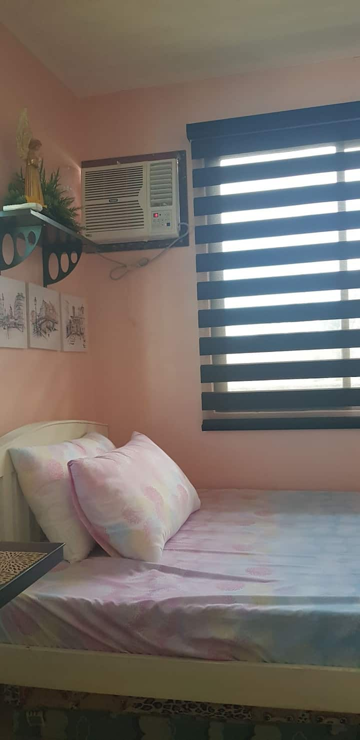 Room for rent with private CR and kitchen