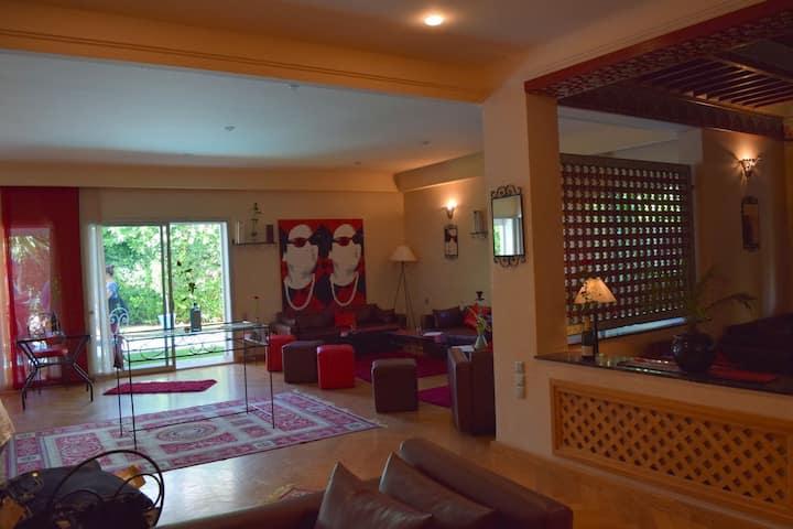 1 ere etage villa tout confort