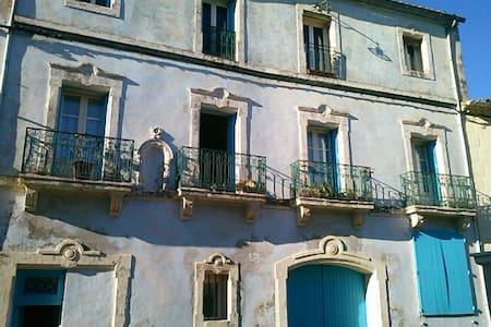 appart ,4 pers village hérault calm - Plaissan - Wohnung