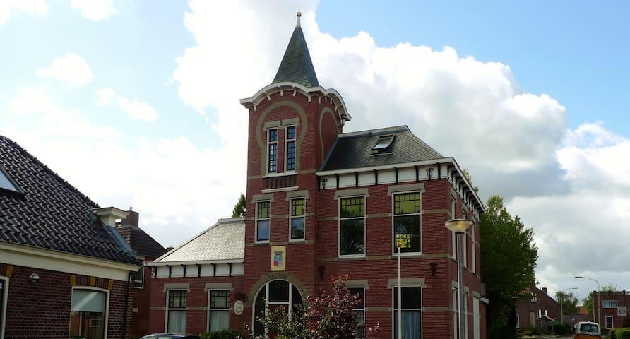 B&B Raadhuis Kloosterburen - Kloosterburen - 城堡