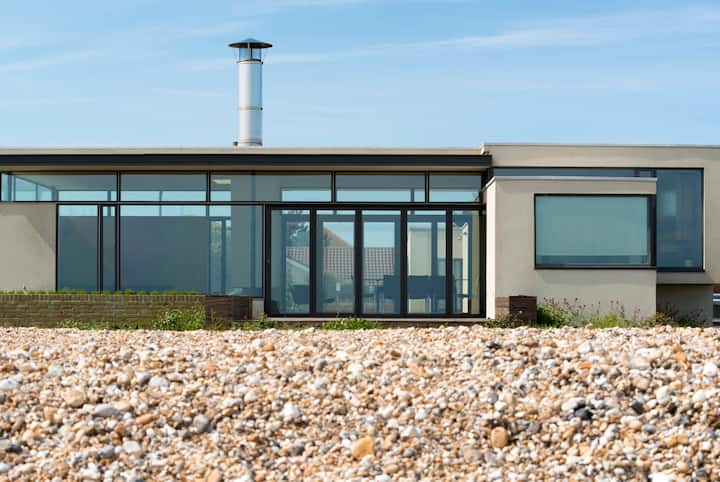 Pagham Beach House, sea views,