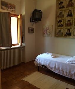 camera singola con terrazza - Castagneto po - Villa
