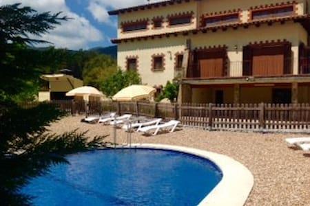 Pleasant Vilamajor for 24 guests - Sant Pere de Vilamajor - 独立屋