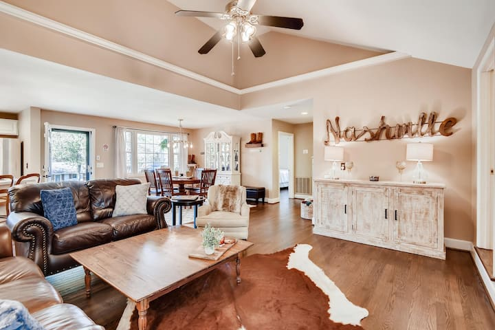 *The Nashville Nest* 4 miles to downtown