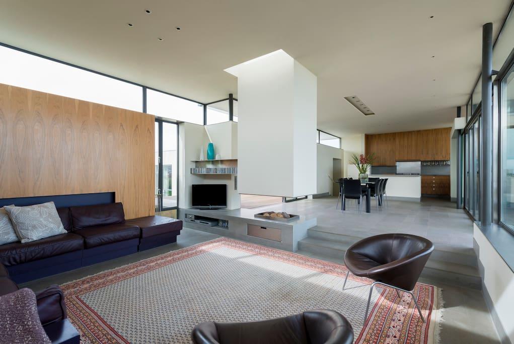 Main room sitting area