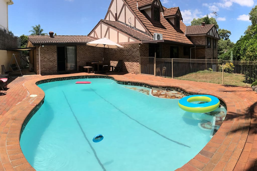 Private full-size pool
