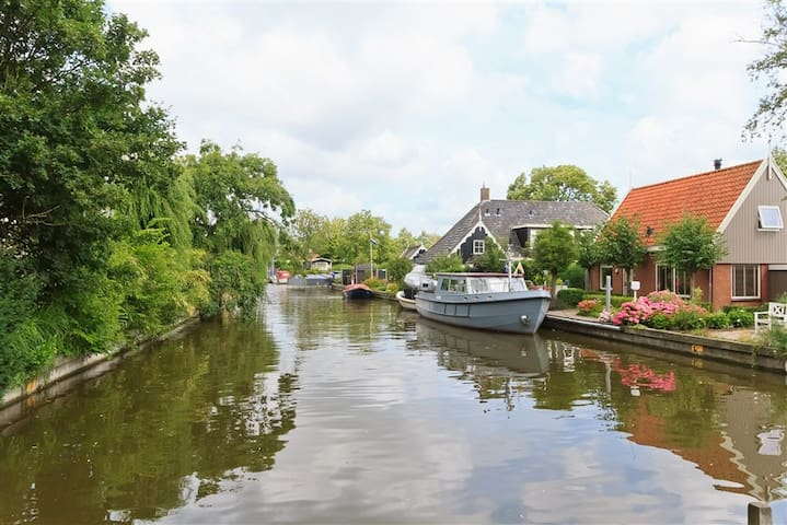 Cosy home + boat & 2 bicycle to use near Amsterdam - Uitgeest - House