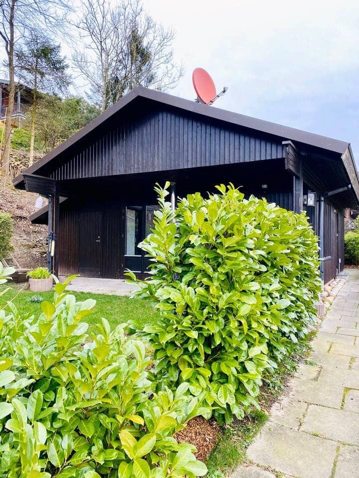 Ruhiges Schwedenhaus im Grünen am Viadukt