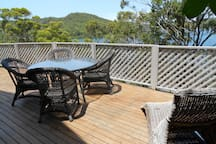 Entertain or chill out on one of the 2 large decks