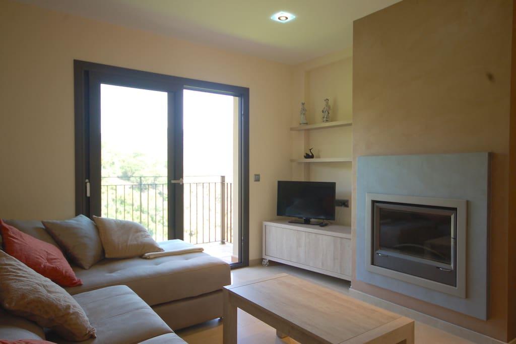 Bright livingroom!