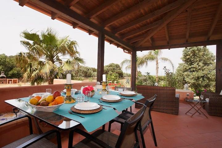 Villa Oleanders, relax in Favignana