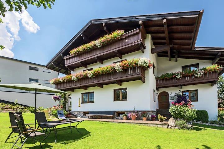 Gezellig appartement in Fügen in het skigebied
