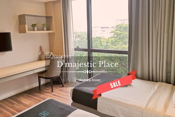 D'majestic Place by Homes Asian - Twin Suite.D139
