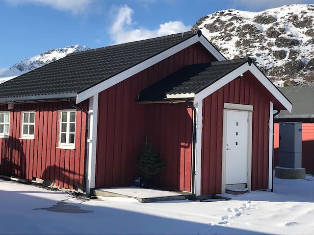 Big cabin in idyllic environment