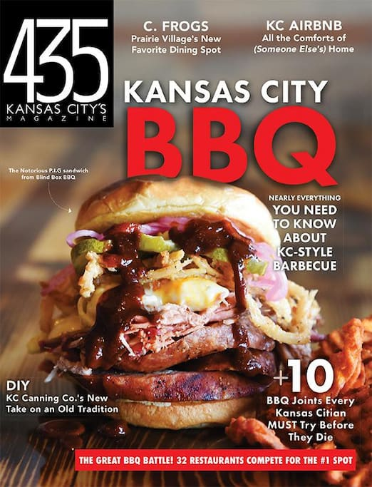 The Bungalow was featured in the Oct 2016 issue of 435 magazine