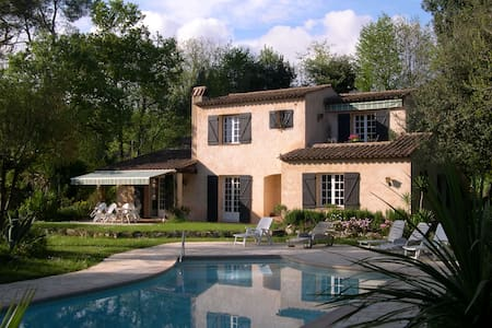 House of provence with swimmingpool - Roquefort-les-Pins