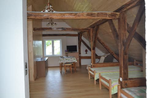 Maison Anka, Studio style dortoir 2 à 7 personnes.