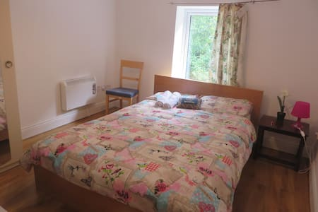 A beautiful private double room