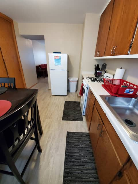 Furnished Williston, ND Apartment for short or long term stays!