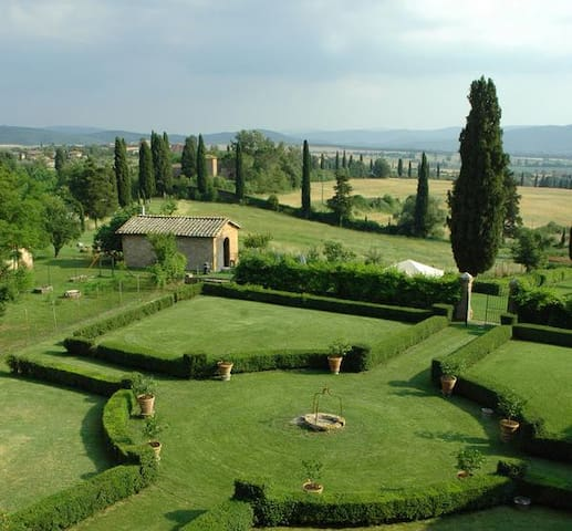 Suite in beautiful organic farm,with this VIEW! - San Rocco A Pilli - Bed & Breakfast