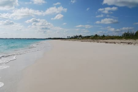 Beautiful white sand beachfront - Treasure Cay