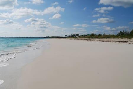 Beautiful white sand beachfront - Treasure Cay - 公寓